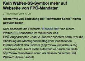Österreichs PolitikerInnen reagieren schnell!