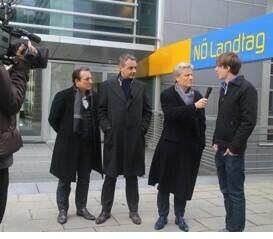"""""""Wir Staatskünstler"""" und """"Meine Abgeordneten"""" im Kampf um mehr Transparenz"""