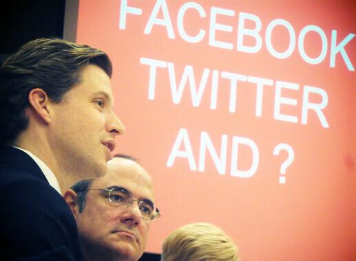 Die EU auf Social Media.