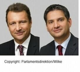 Neu im Bundesrat: Androsch (SPÖ) und Fürlinger (ÖVP)