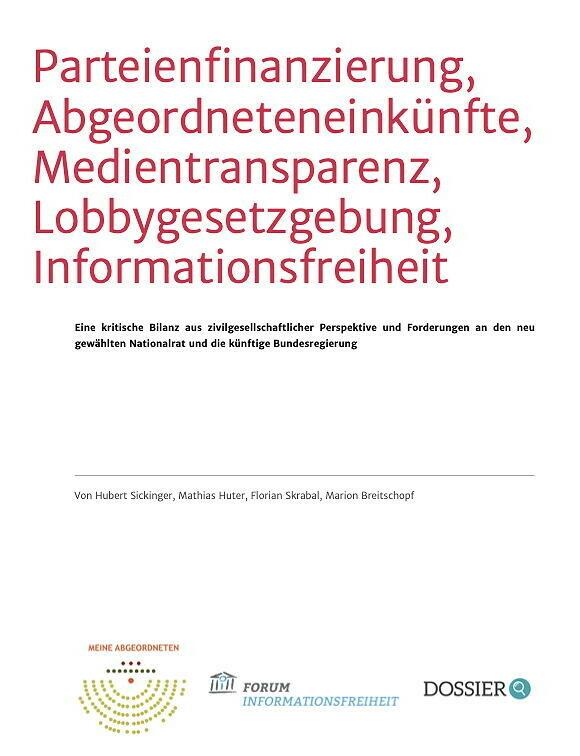 Neustart für Österreichs Politik: Die Zivilgesellschaft legt ihr Forderungspaket auf den Tisch