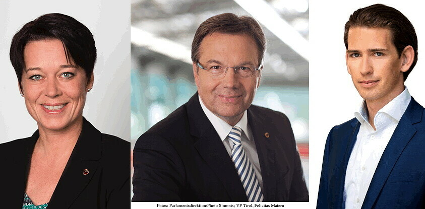 Routinemäßige Wechsel per Jahresanfang - drei ÖVP Politiker übernehmen