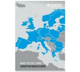 Transparency International: Corruption Risks in Europe
