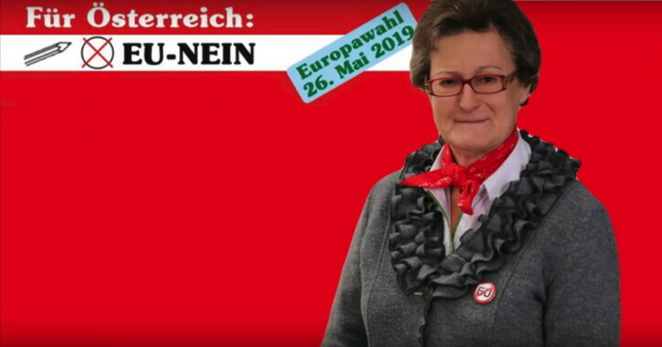EU-Wahl 2019: EU-NEIN mit Inge Rauscher