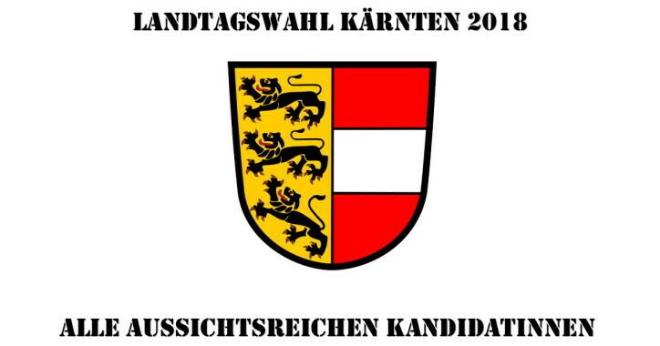 Die KandidatInnen zur Kärntner Landtagswahl