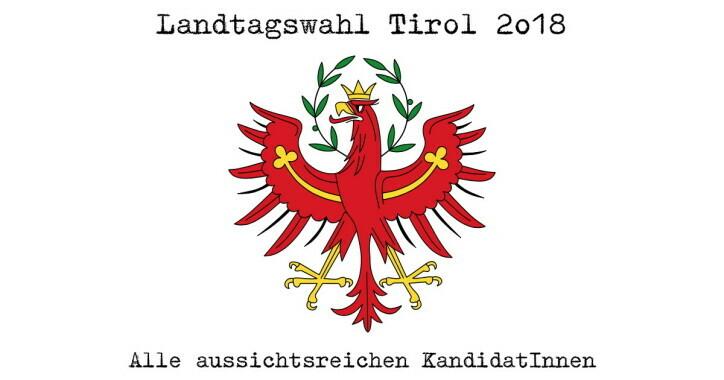 Die KandidatInnen für die Tiroler Landtagswahlen