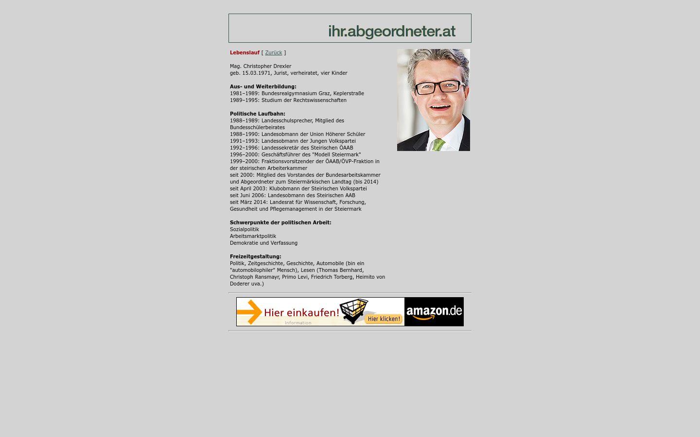 Christopher Drexler Landesrat In Der Steiermark Meine Abgeordneten